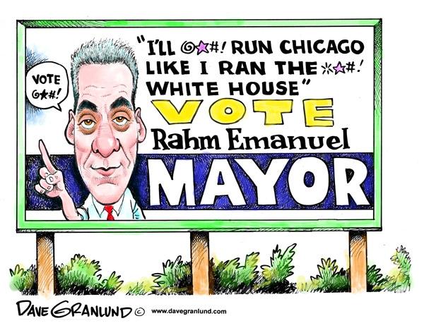 Por qu el adis de Rahm ser bueno para Obama