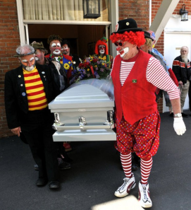 clownfuneral