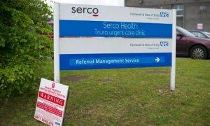 Serco's headquarters in Truro, Cornwall.