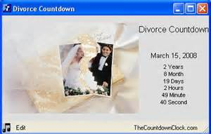 divorce countdown