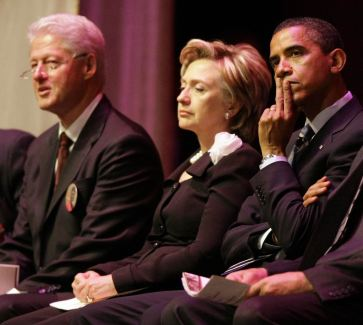 Bill Clinton - Hillary Clinton - Barack Obama